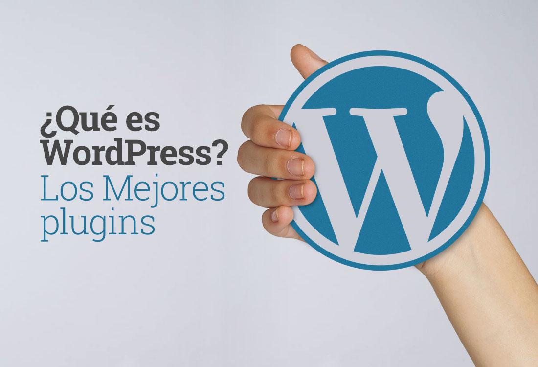 Qué es wordpress. Los mejores plugins