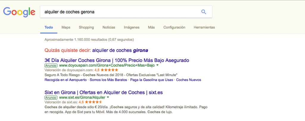 Google Ads anuncios patrocinados
